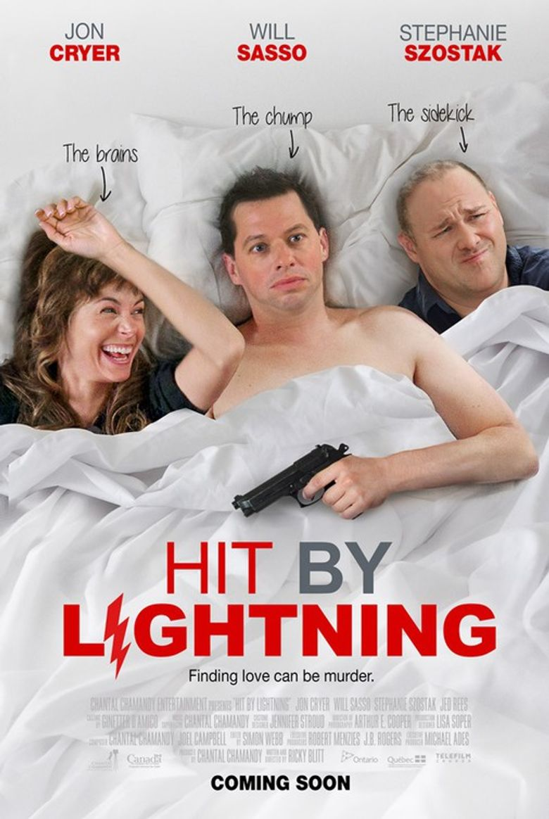 Hit by Lightning Poster