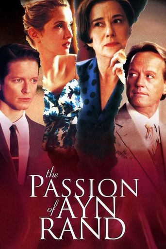 The Passion of Ayn Rand Poster