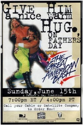 WCW The Great American Bash 1997 Poster