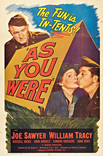 As You Were Poster
