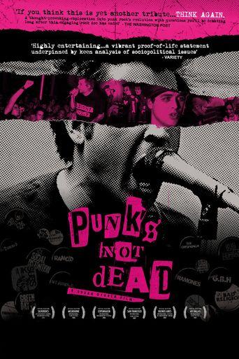 Punk's Not Dead Poster