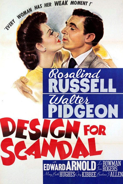 Design for Scandal Poster