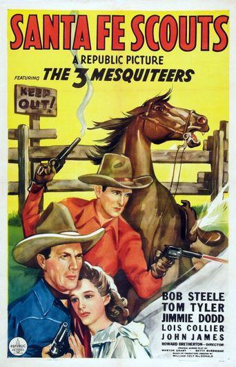 Santa Fe Scouts Poster