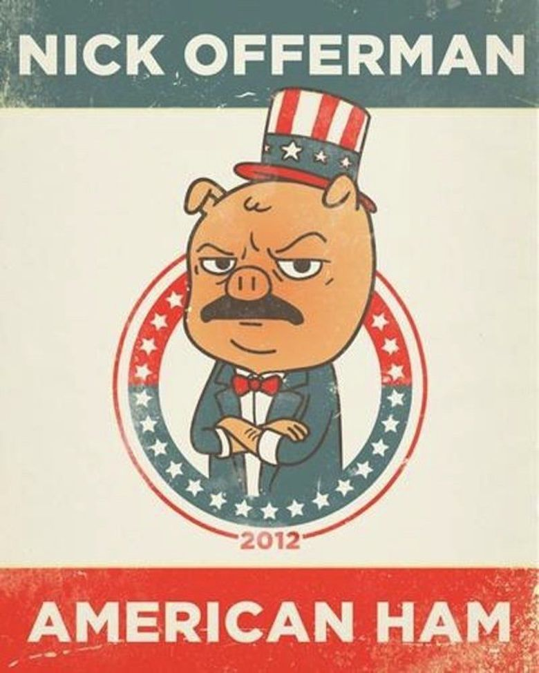 Nick Offerman: American Ham Poster