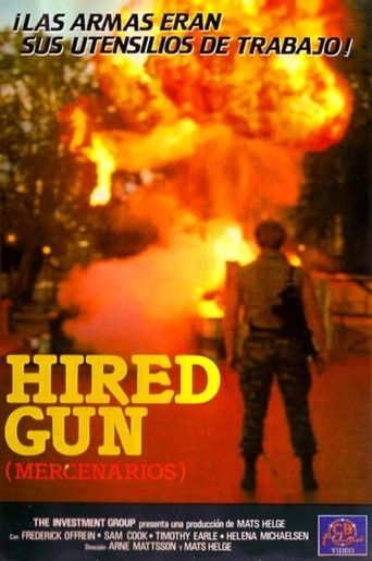 The Hired Gun Poster