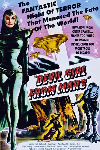 Devil Girl from Mars Poster