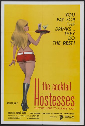 The Cocktail Hostesses Poster