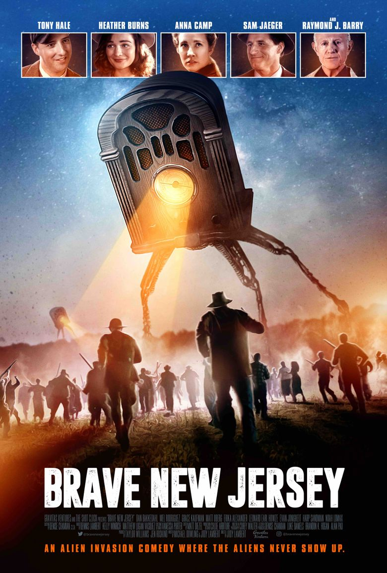 Brave New Jersey Poster
