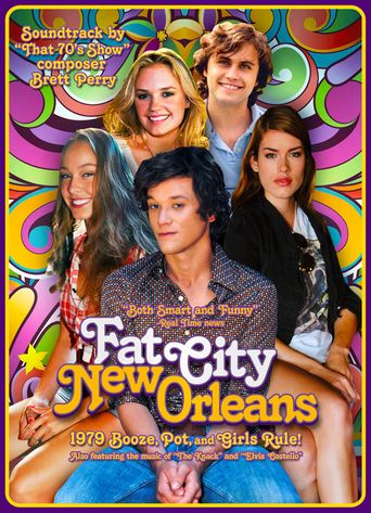 Fat City, New Orleans Poster