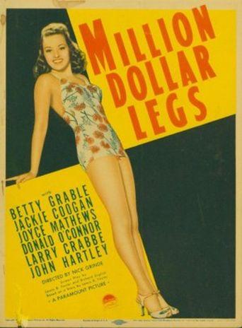 Million Dollar Legs Poster