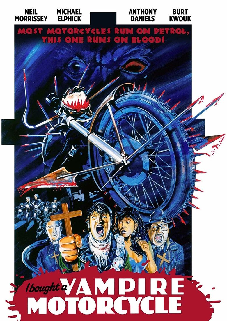 I Bought a Vampire Motorcycle Poster