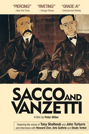 Sacco and Vanzetti Poster