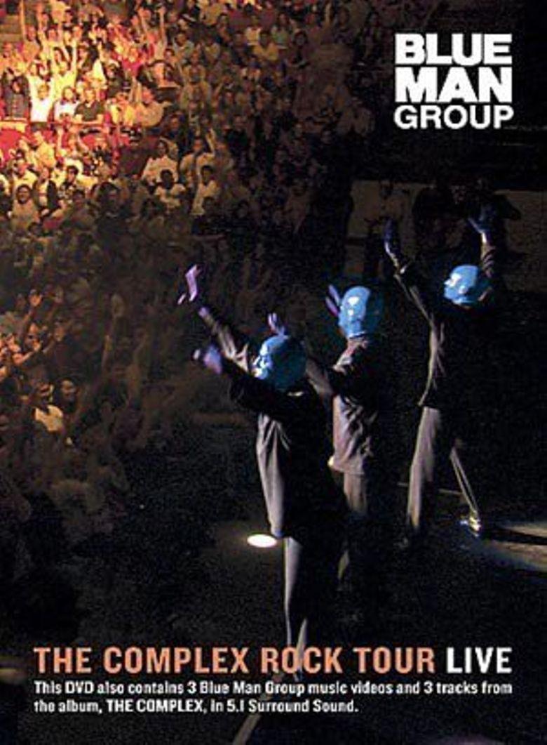 Blue Man Group: The Complex Rock Tour Poster