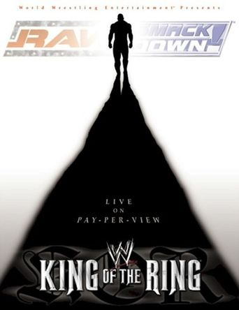 WWE King of the Ring 2002 Poster