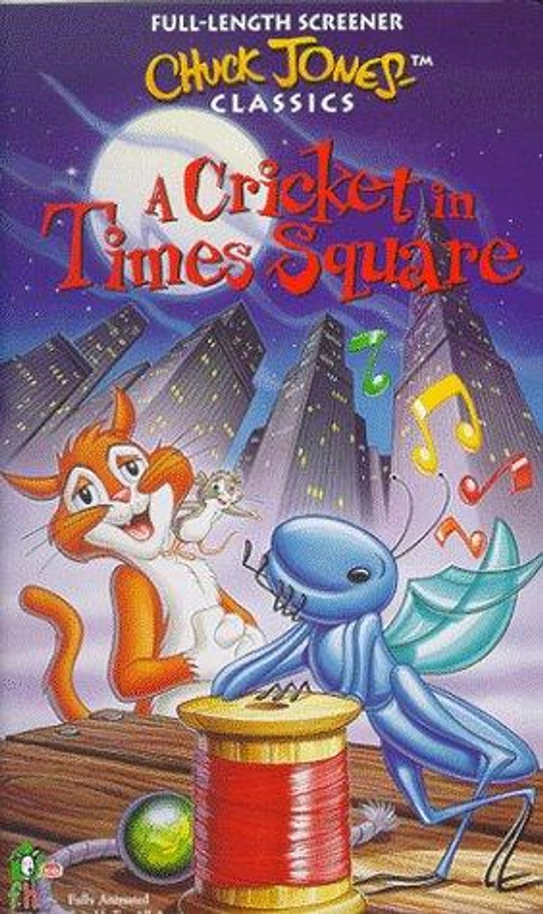 A Cricket in Times Square Poster