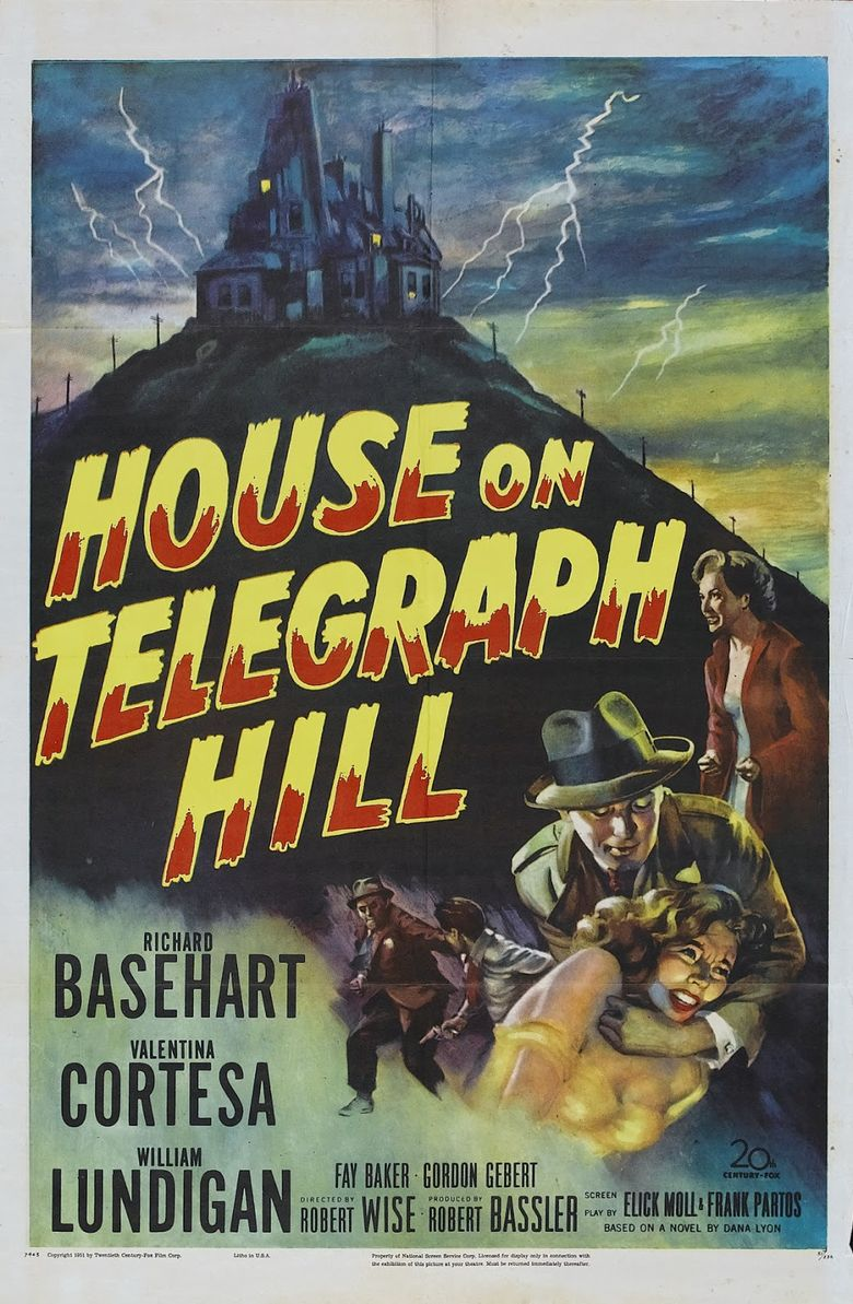 The House on Telegraph Hill Poster