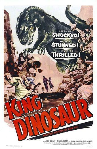 King Dinosaur Poster