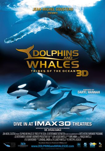 Dolphins and Whales: Tribes of the Ocean Poster
