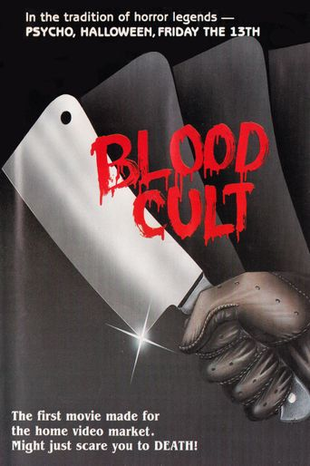 Blood Cult Poster