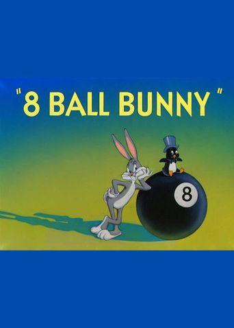 8 Ball Bunny Poster