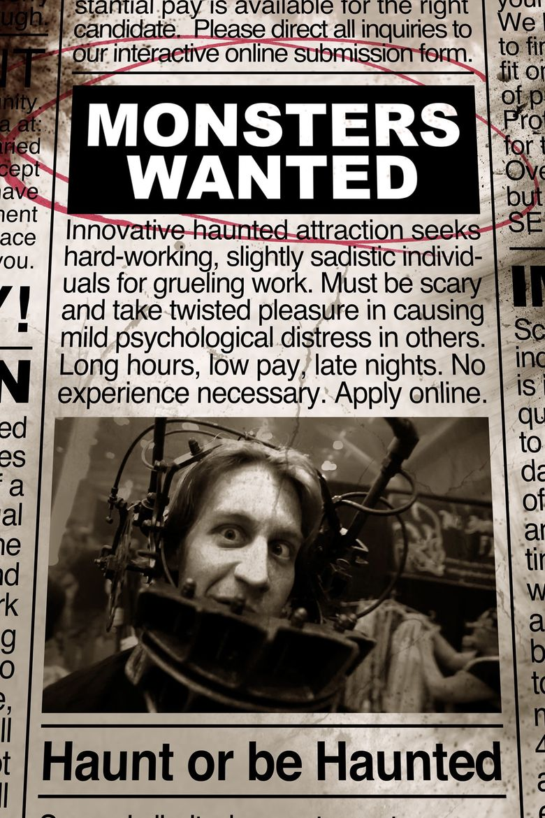 Monsters Wanted Poster