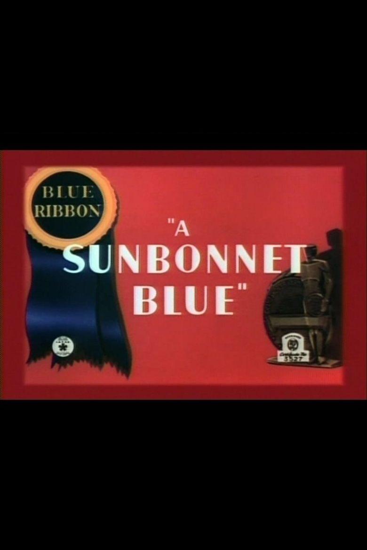 A Sunbonnet Blue Poster