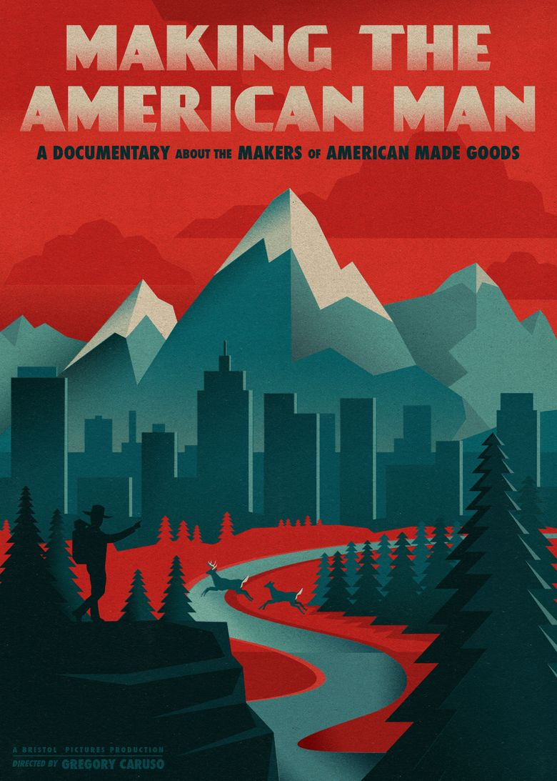 Making the American Man Poster