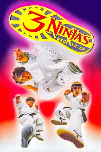 3 Ninjas Knuckle Up Poster