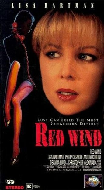 Red Wind Poster