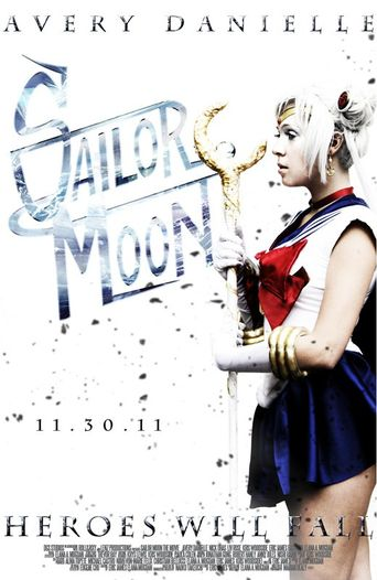 Sailor Moon the Movie Poster