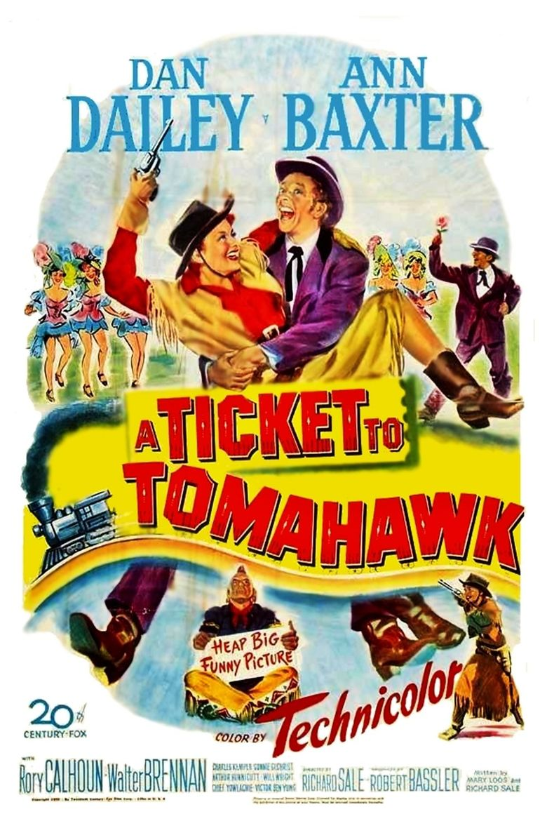 A Ticket to Tomahawk Poster