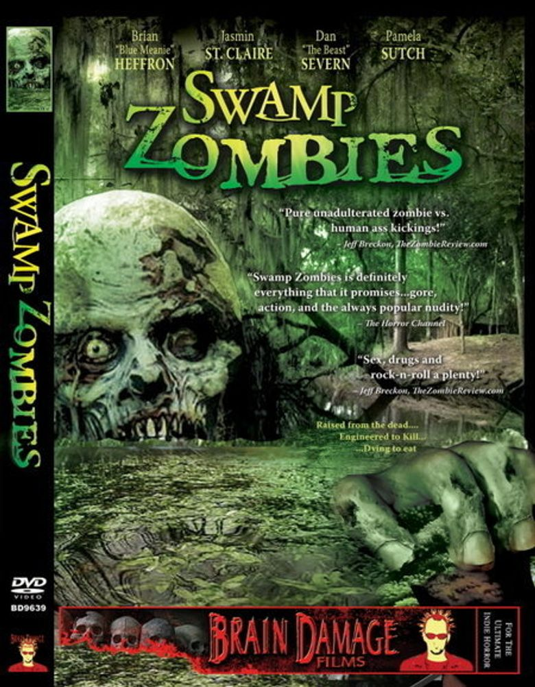 Swamp Zombies!!! Poster