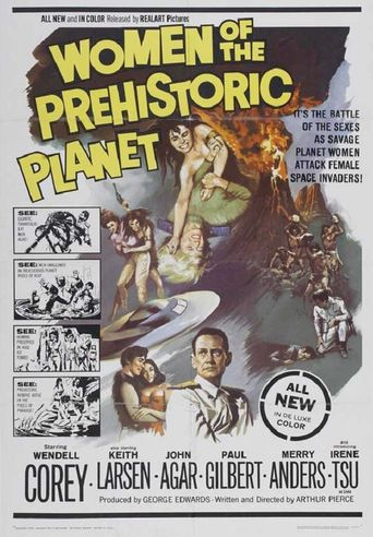 Women of the Prehistoric Planet Poster