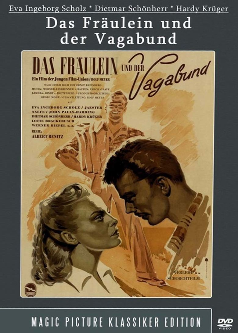 Das Fräulein und der Vagabund Poster