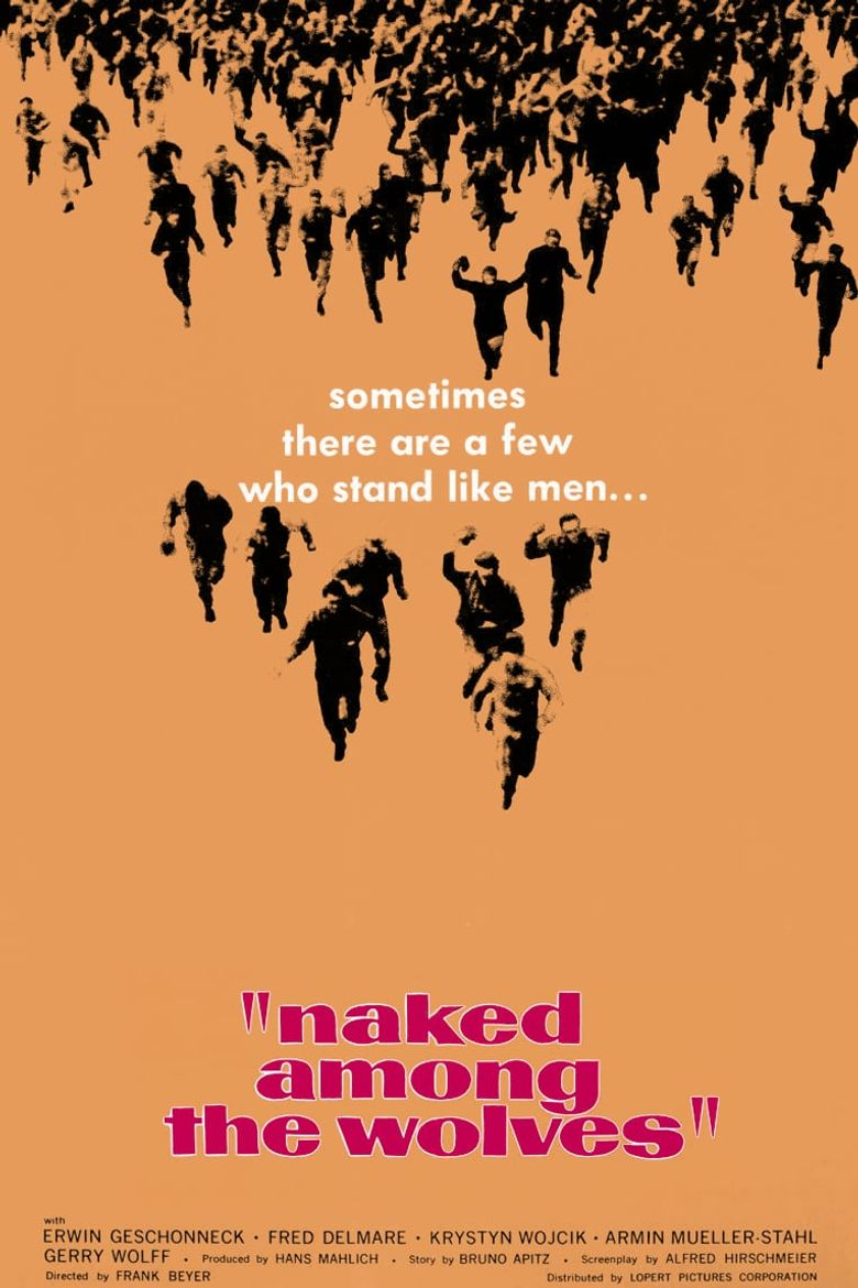 Naked Among Wolves Poster
