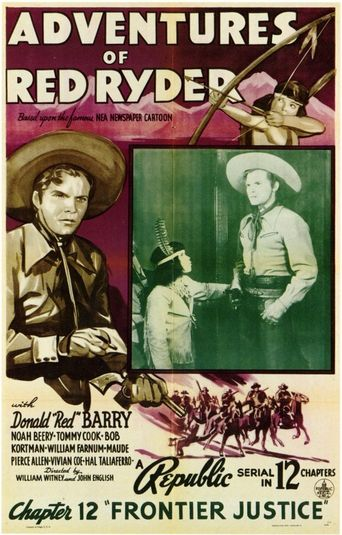 Adventures of Red Ryder Poster