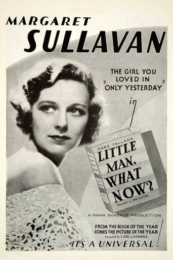 Little Man, What Now? Poster