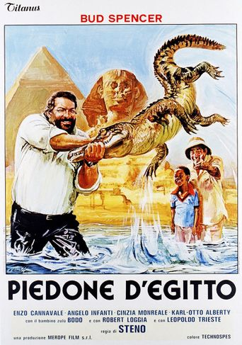Flatfoot in Egypt Poster
