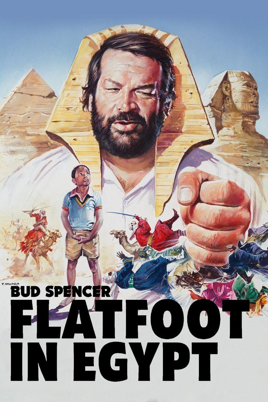 Flatfoot in Egypt Poster
