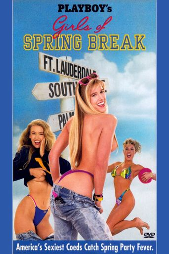 Playboy's Girls of Spring Break Poster