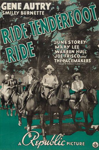 Ride, Tenderfoot, Ride Poster