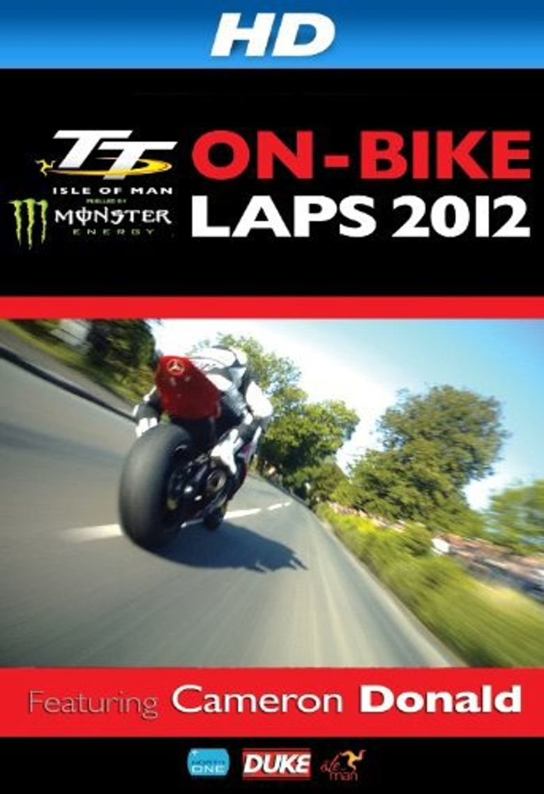 TT 2012 on Bike Laps: Cameron Donald Poster