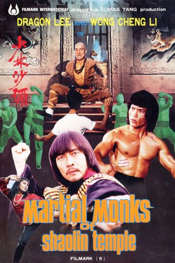 Martial Monks of Shaolin Temple Poster