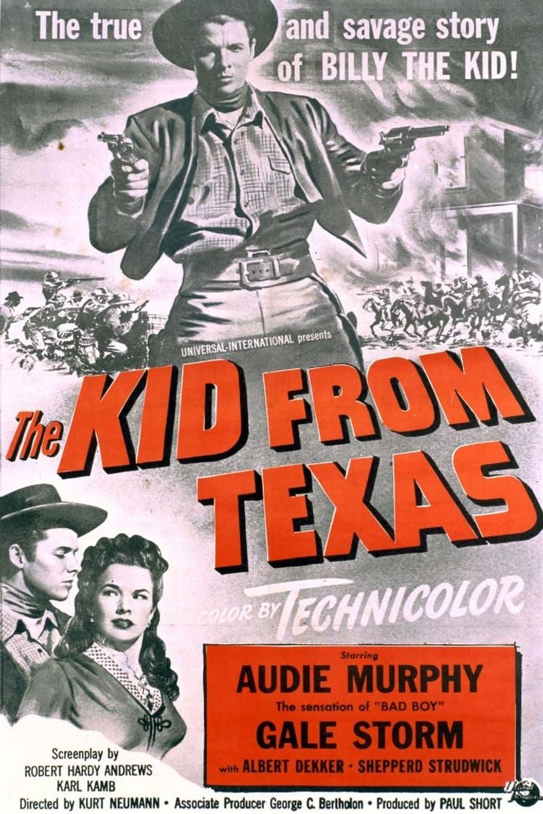 The Kid from Texas Poster