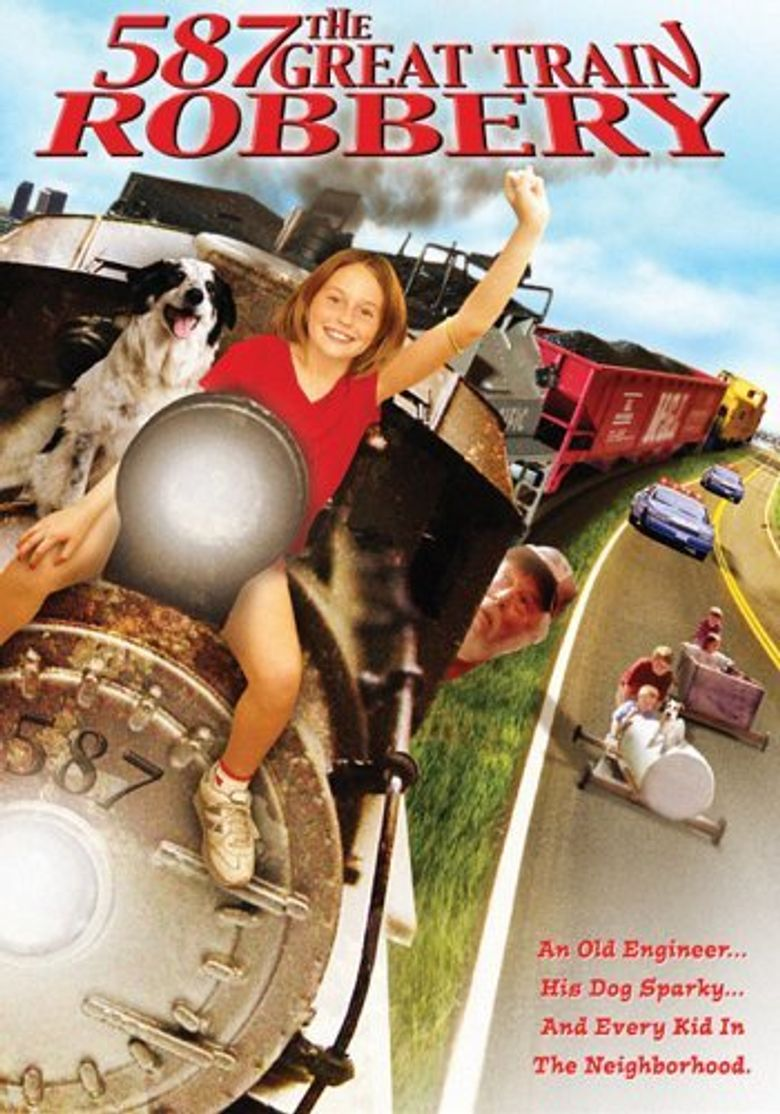 587 The Great Train Robbery Poster