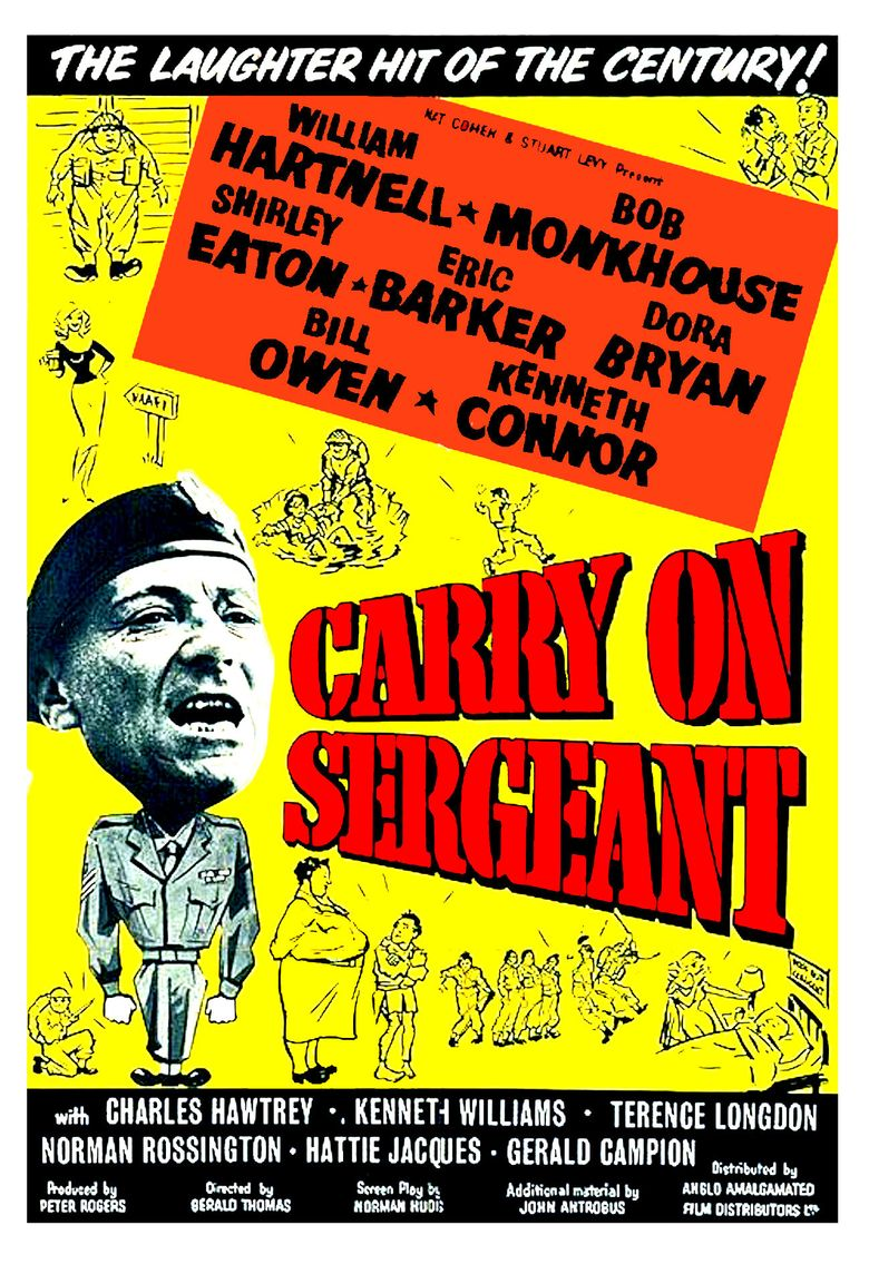 Carry On Sergeant Poster