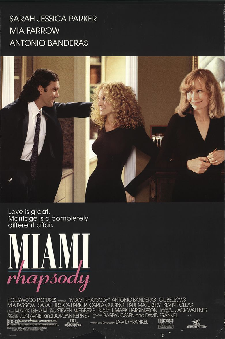 Miami Rhapsody Poster