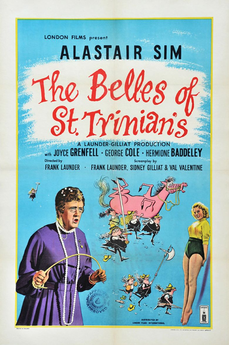 The Belles of St. Trinian's Poster