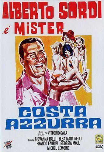 Costa Azzurra Poster