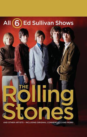 Six Ed Sullivan Shows Starring 'The Rolling Stones' Poster